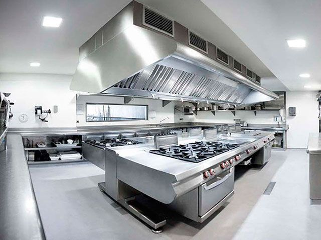 Equipamiento de cocina soluciones integrales para for Precio cocina industrial para restaurante